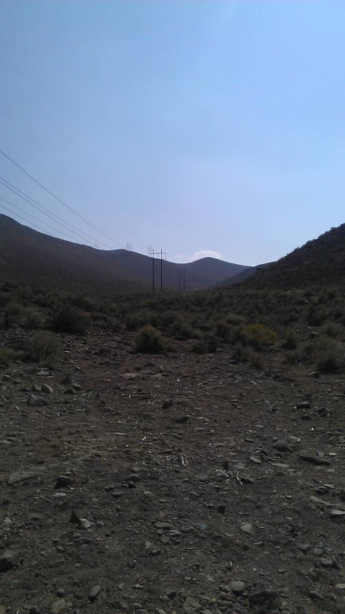 Power Line access road just north of Hidden Valley Park
