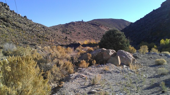Sandy, rocky, stream crossings made for mixed terrain
