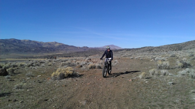 Climbing onto Tule Peak from Winnemucca Ranch Rd