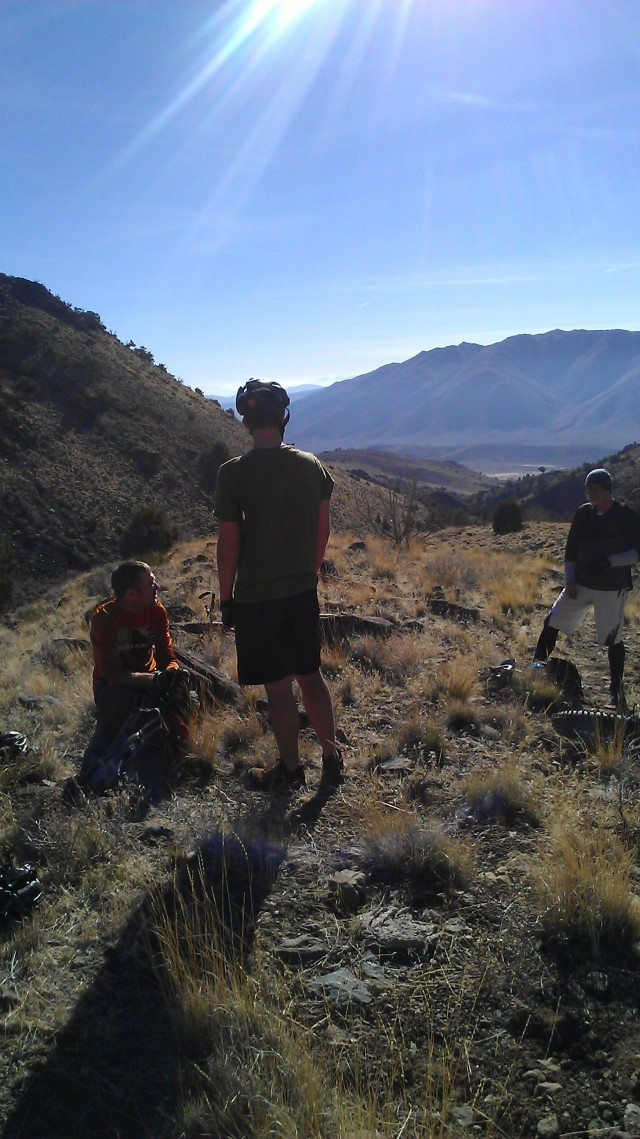 Below Tule Peak; Dean, Billy, Tom