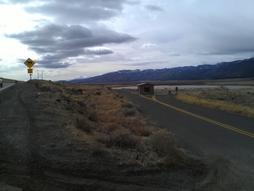 Eastlake Blvd at the top of Washoe Lake, turn-off for Ophir Rd and Jumbo Grade