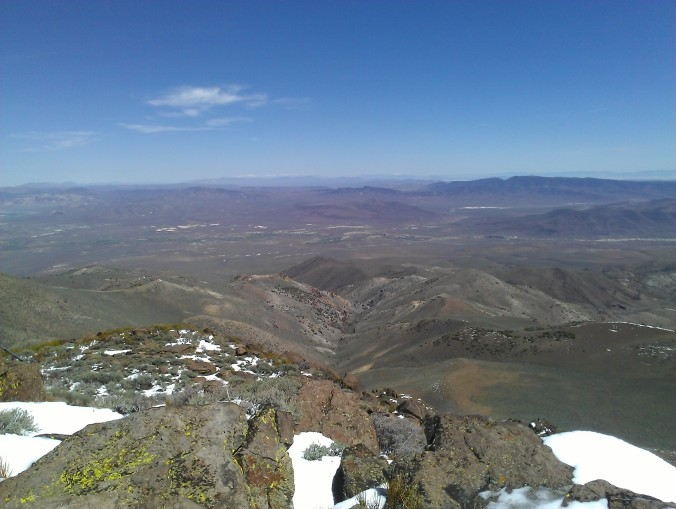 Virginia Peak, Pah Rah Range, looking east. Future rides.