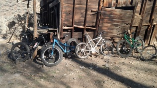 Fat Bikes and 90's steel mountain bikes, all good bikepackers.
