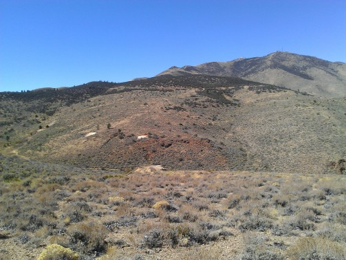 Peavine Peak from Mahogany Forrest Trail
