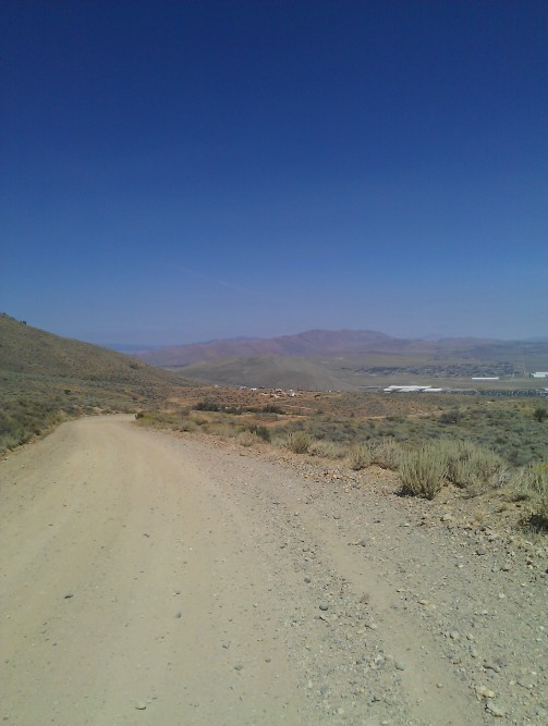 Peavine Rd. above Poeville Mine Site