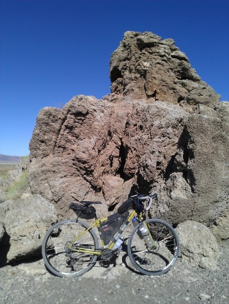 Washington Rock; an outstanding example of tufa