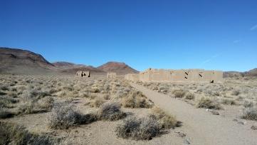 Adobe Fort Ruins