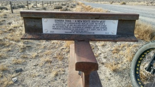 Emigrant Trail Marker