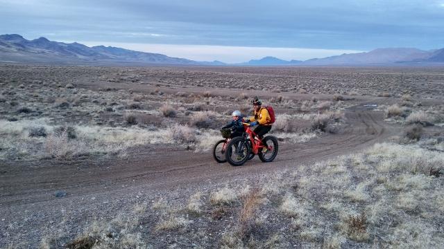 Bikepacking mentoring