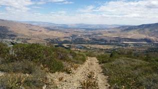 Steep rough roads give way to views of Verdi and Reno
