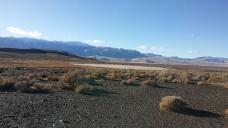 Mini-playa dwarfed by Granite Range and Black Rock Desert