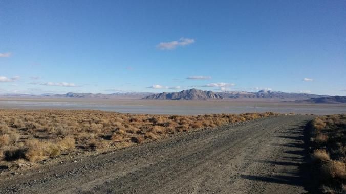Across the Black Rock, Old Razorback Mtn