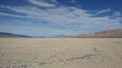 Each desert playa has its own qualities