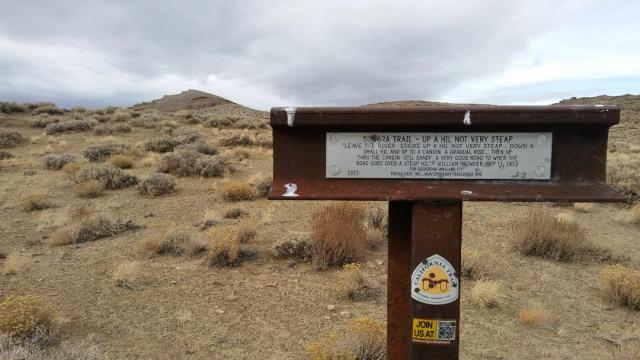 Sonora Emigrant Trail Marker, Pine Grove Hills