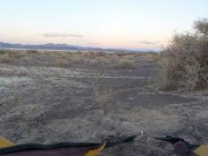 Camping on Sarcobatus Flat