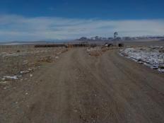 Cow Camp on the edge of Fourmile Flat desert